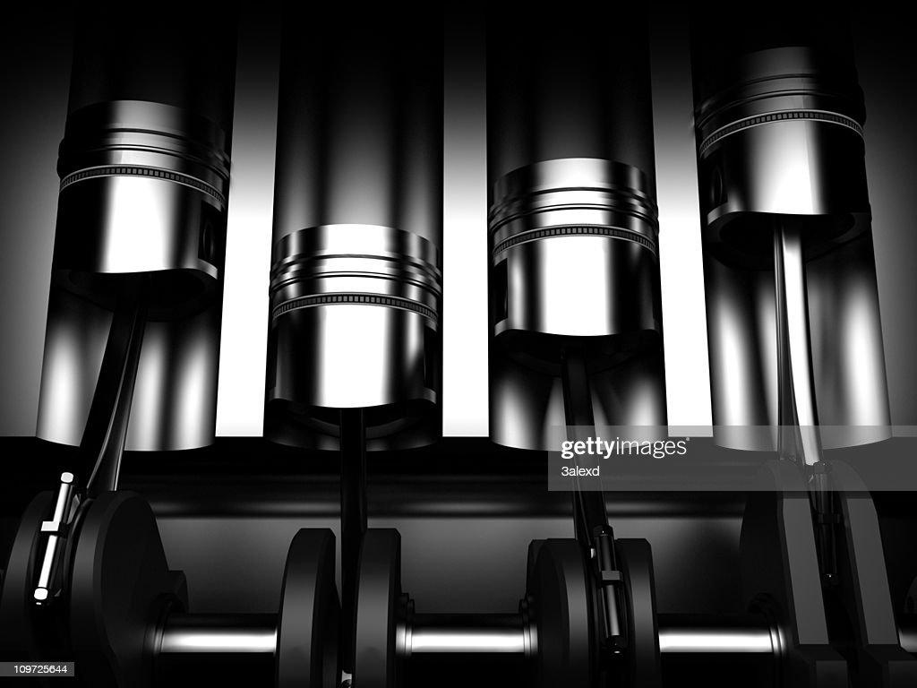 Car engine : Stock Photo