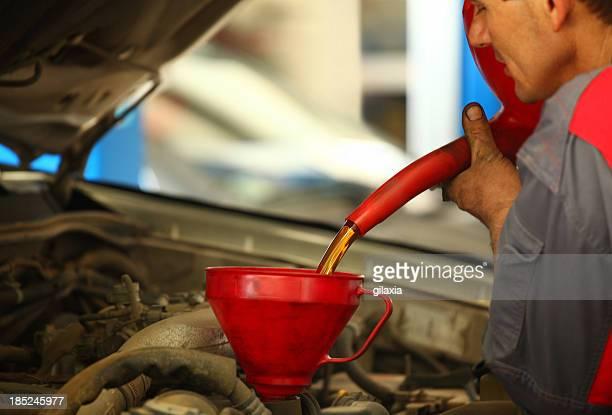 Car engine service.