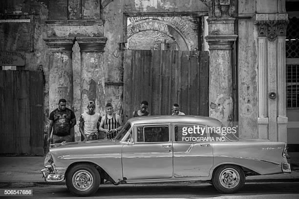 Auto-Experten in Havanna