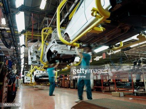 Car factory production line
