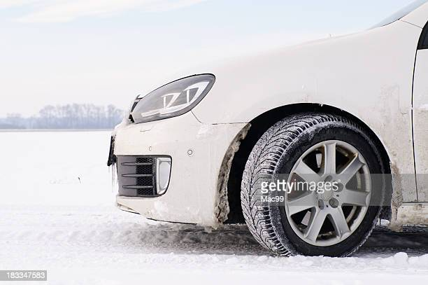 Car in winter