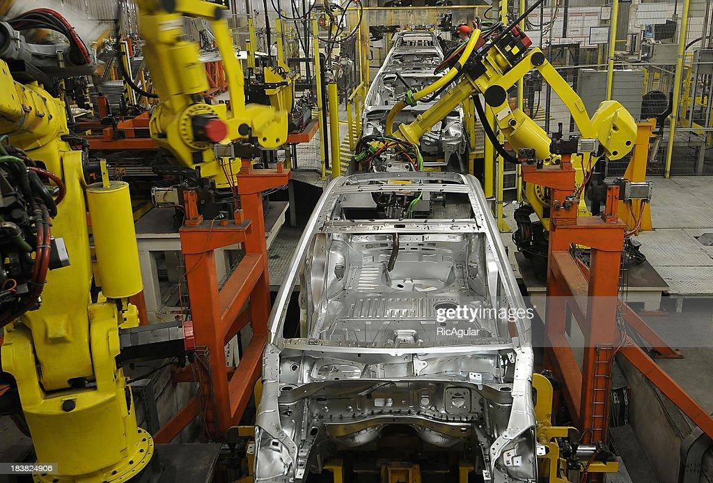 Industria del automóvil : Foto de stock