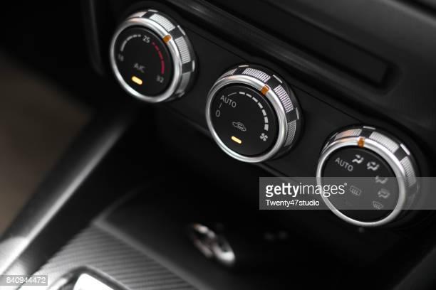 Car Interior, Air conditioning button