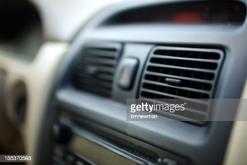 car interior heater vents stock photo getty images. Black Bedroom Furniture Sets. Home Design Ideas