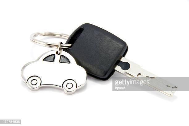 Autoschlüssel Isoliert