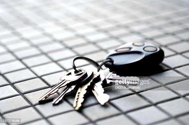 Car Keys on Tile