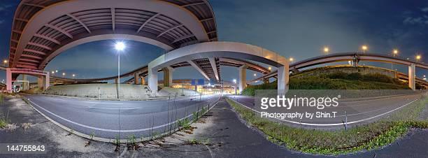 Car light trails