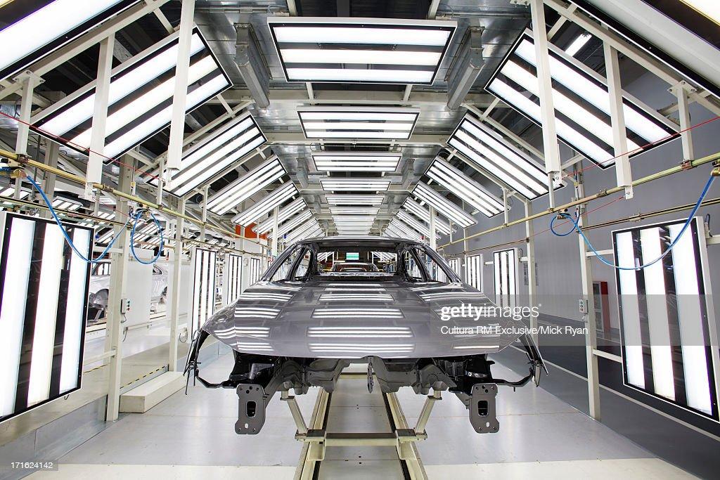 Car manufacturing plant, Shanghai, China