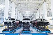 Car manufacturing plant, Wuhu, China