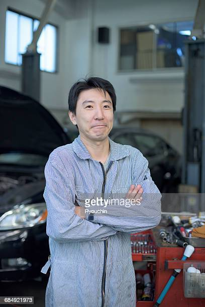 Car mechanic. , Worker's portrait