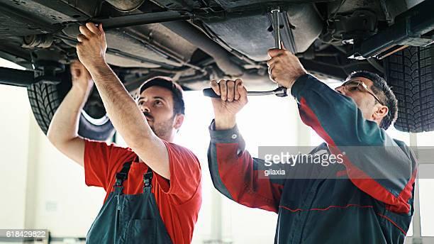 Auto-Mechaniker.