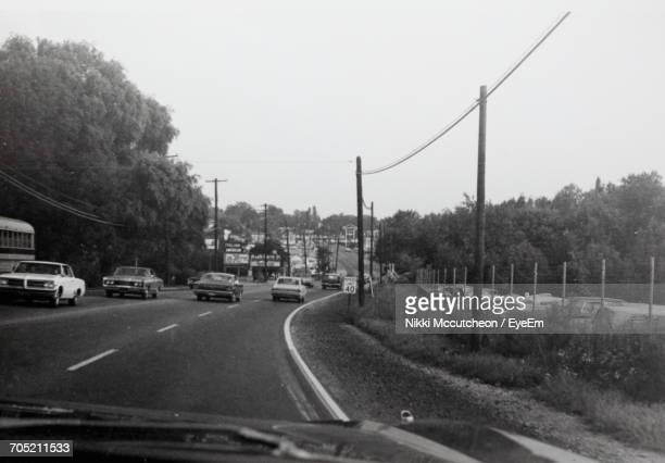 Car Moving On Road