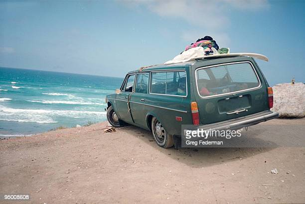 Car on a beach