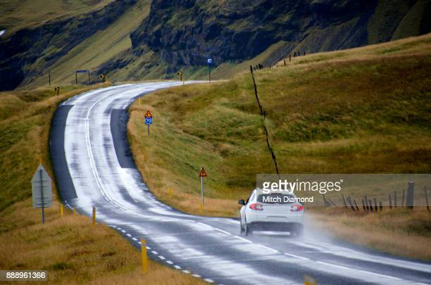 Car on Iceland's Highway #1