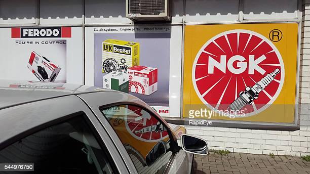 Parti di auto rese presso il motore forniture negozio a Città del Capo