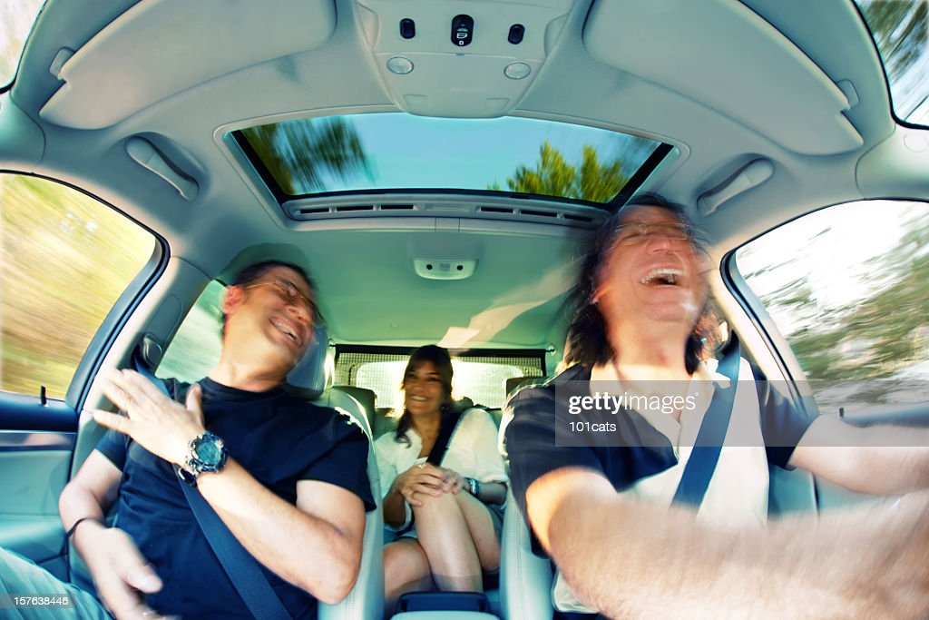 car passengers : Stock Photo