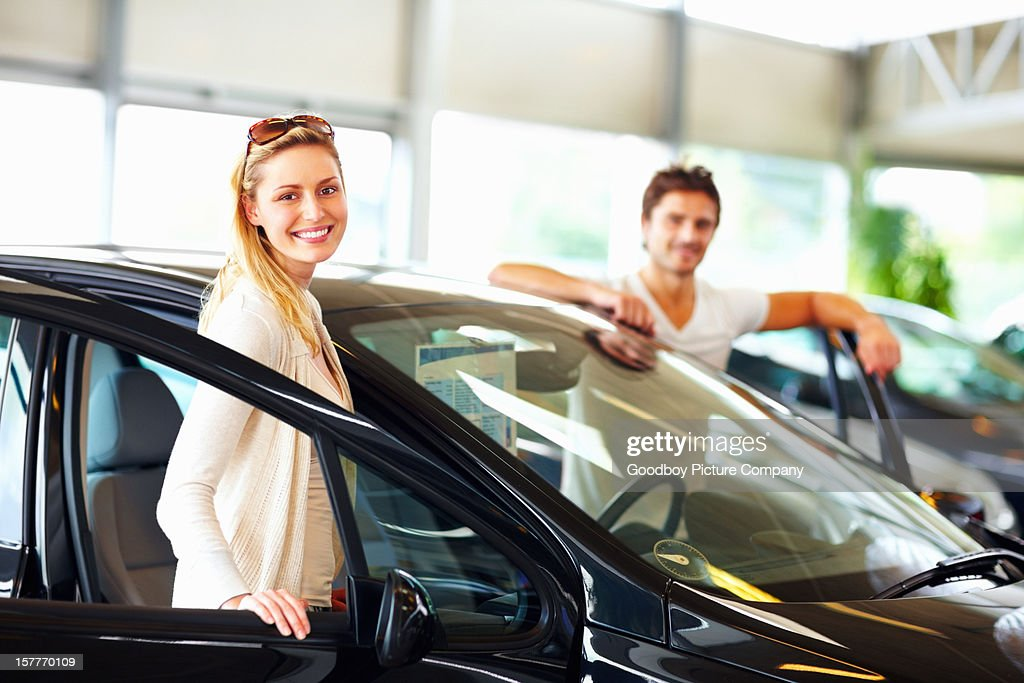 Car purchase : Stock Photo