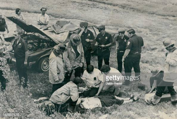 JUN 28 1974 JUN 29 1974 JUN 30 1974 car ran off the road and overturned after it failed to make a left turn at W Ken¡yon Ave and the 3700 block of S...