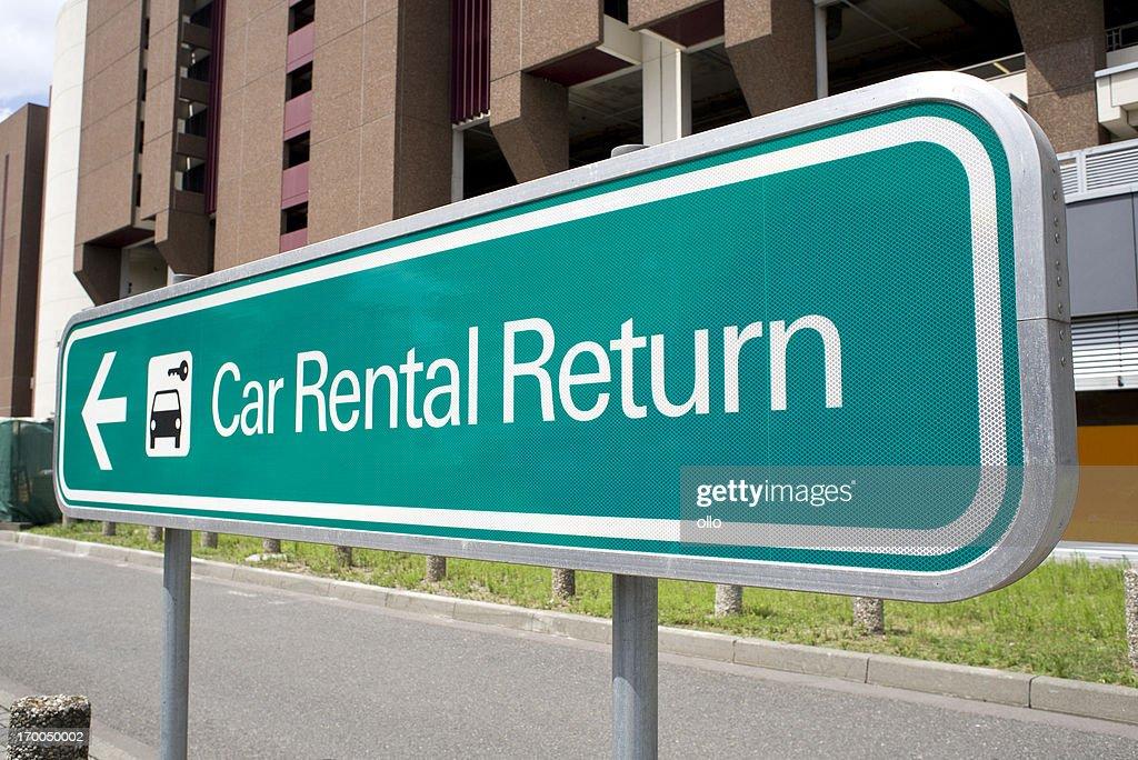 O Hare Airport Car Rental Return