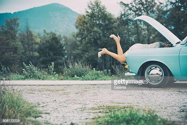 Travaux de réparation de voiture
