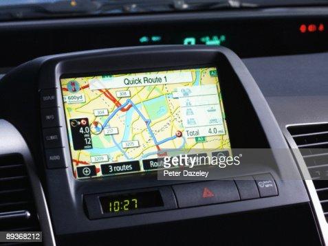 Car Sat Navigation system.