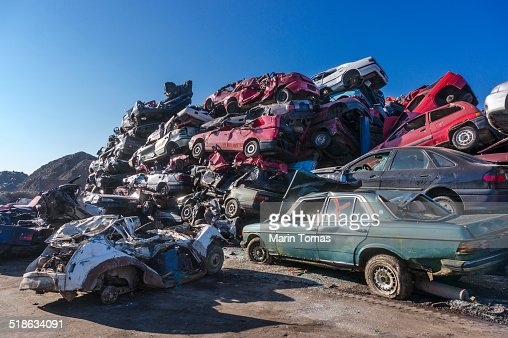 Car scrapyard