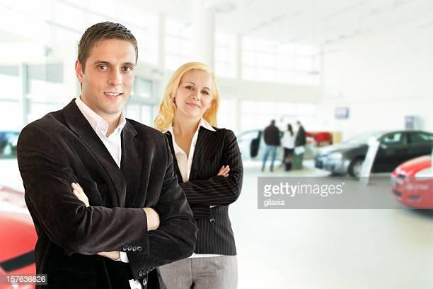 Auto-Verkäufer.