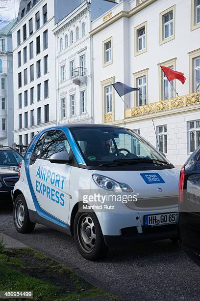 Car Sharing Car2Go Hamburg Germany