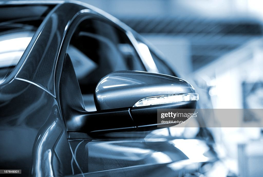 car side mirror : Stock Photo