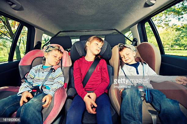 Car travel with kids