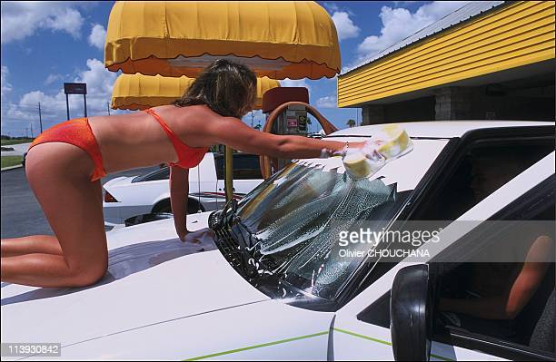 Sexy Carwash Stock Photos and Pictures  Getty Images