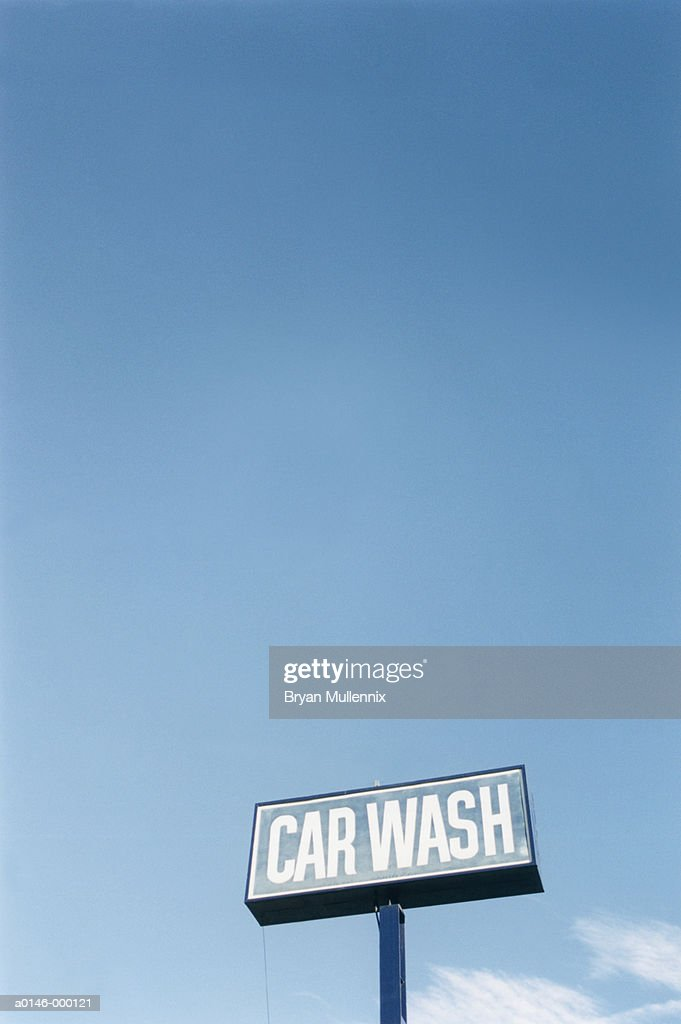 Car Wash Sign : Stock Photo
