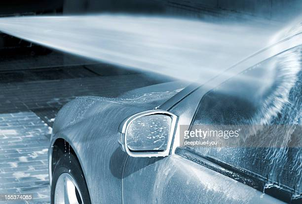 Car Wash with high pressure cleaner