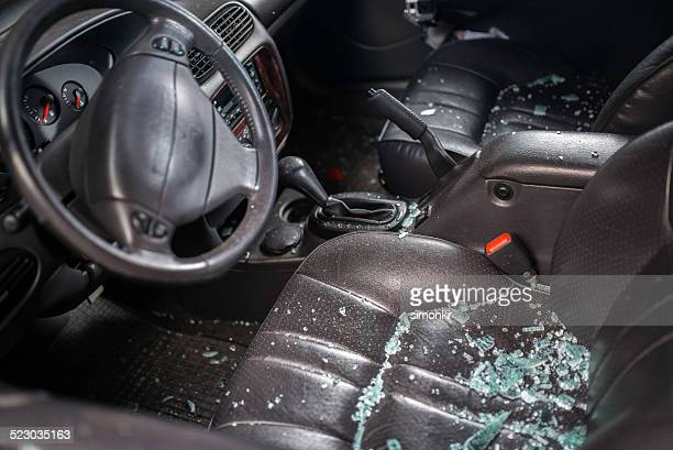 Car Window Smashed By A Thief