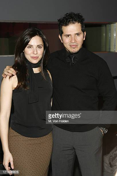 Cara Buono and John Leguizamo during Final Round of the Casting Call for 'Live Mansion The Movie' Inside at Pressure in Manhattan New York United...