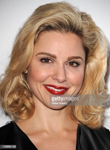 Cara Buono attends ELLE's Women In TV Celebration Presented By Ports 1961 at Soho House on January 27 2011 in West Hollywood California