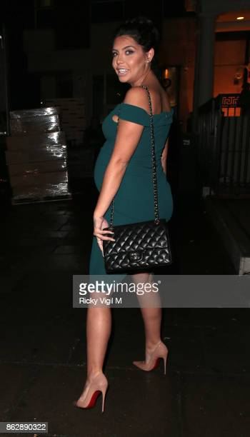 Cara De La Hoyde attends Tangle Teezer 10th birthday party at Tape London on October 18 2017 in London England
