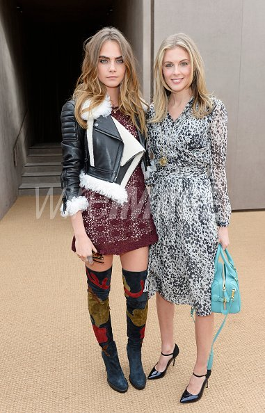 Cara Delevingne and Donna Air...