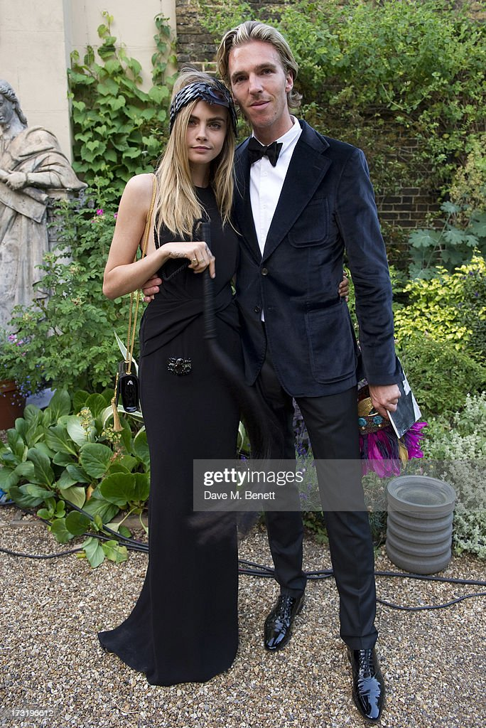 <a gi-track='captionPersonalityLinkClicked' href=/galleries/search?phrase=Cara+Delevingne&family=editorial&specificpeople=5488432 ng-click='$event.stopPropagation()'>Cara Delevingne</a> and James Cook attend The Elephant Family presents 'The Animal Ball' at Lancaster House on July 9, 2013 in London, England.