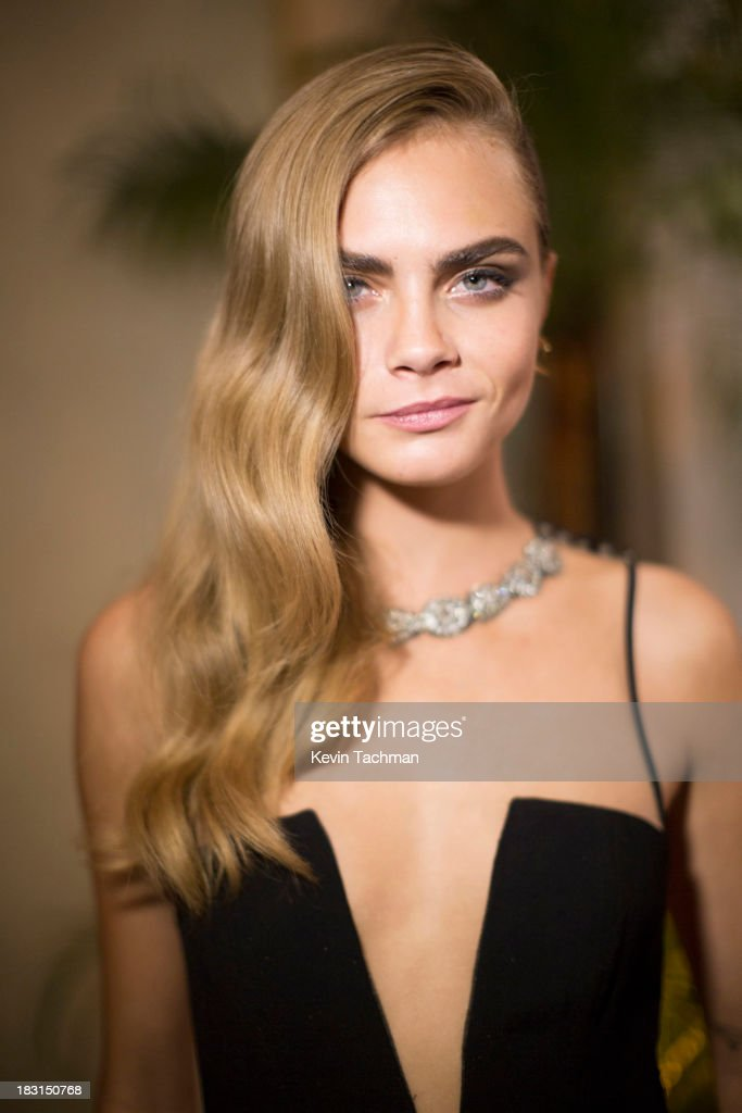 <a gi-track='captionPersonalityLinkClicked' href=/galleries/search?phrase=Cara+Delevingne&family=editorial&specificpeople=5488432 ng-click='$event.stopPropagation()'>Cara Delevingne</a> attends the amfAR Inspiration Gala Rio on October 4, 2013 in Rio de Janeiro, Brazil.