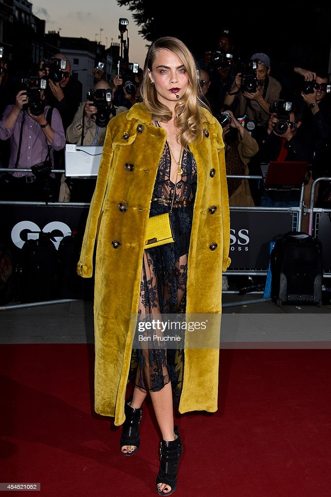 <a gi-track='captionPersonalityLinkClicked' href=/galleries/search?phrase=Cara+Delevingne&family=editorial&specificpeople=5488432 ng-click='$event.stopPropagation()'>Cara Delevingne</a> attends the GQ men of the year awards at The Royal Opera House on September 2, 2014 in London, England.