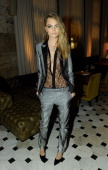 Cara Delevingne attends The London Edition opening celebrating the September issue of W Magazine at The London Edition Hotel on September 14 2013 in...