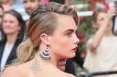 Cara Delevingne attends the 'The Search' Premiere at the 67th Annual Cannes Film Festival on May 21 2014 in Cannes France