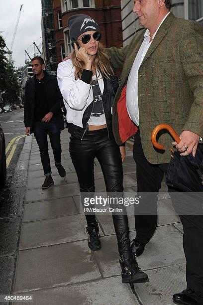 Cara Delevingne is seen on September 16 2013 in London United Kingdom