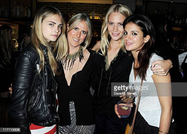Cara Delevingne Kit Willow Poppy Delevingne and Sara Forage attend the Willow Resort Party hosted by Kit Willow and Poppy Delevingne at The Riding...