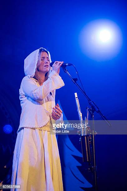 Cara Dillon performs at the Union Chapel on November 24 2016 in London England