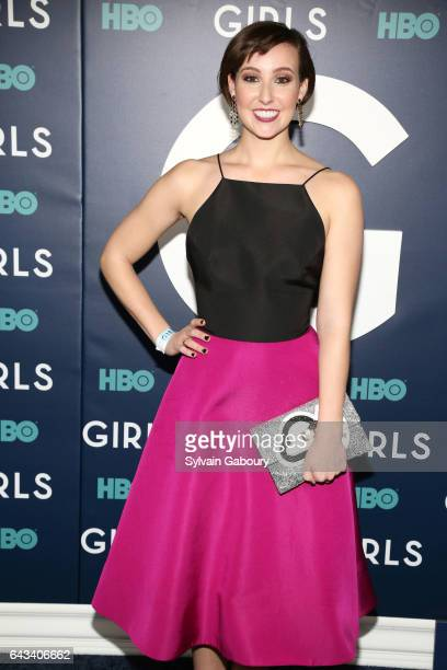 Cara Guglielmino attends The New York Premiere of the Sixth Final Season of 'Girls' at Alice Tully Hall on February 2 2017 in New York City