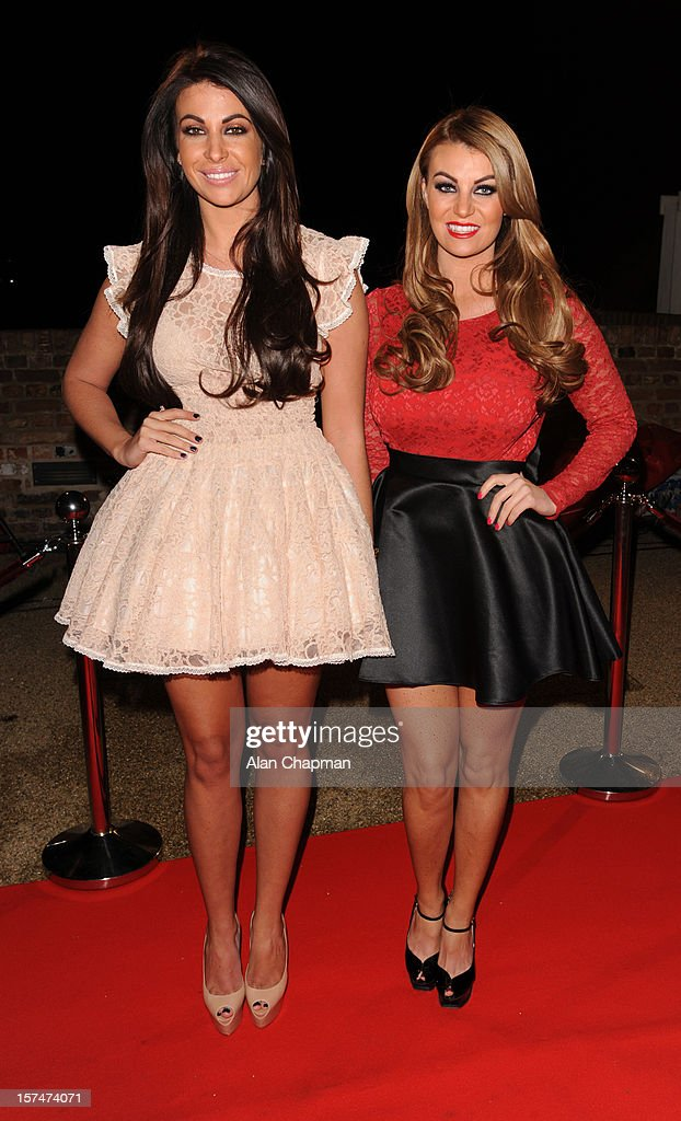 Cara Kilbey and Billi Mucklow sighting at TOWIE live on December 3, 2012 in London, England.