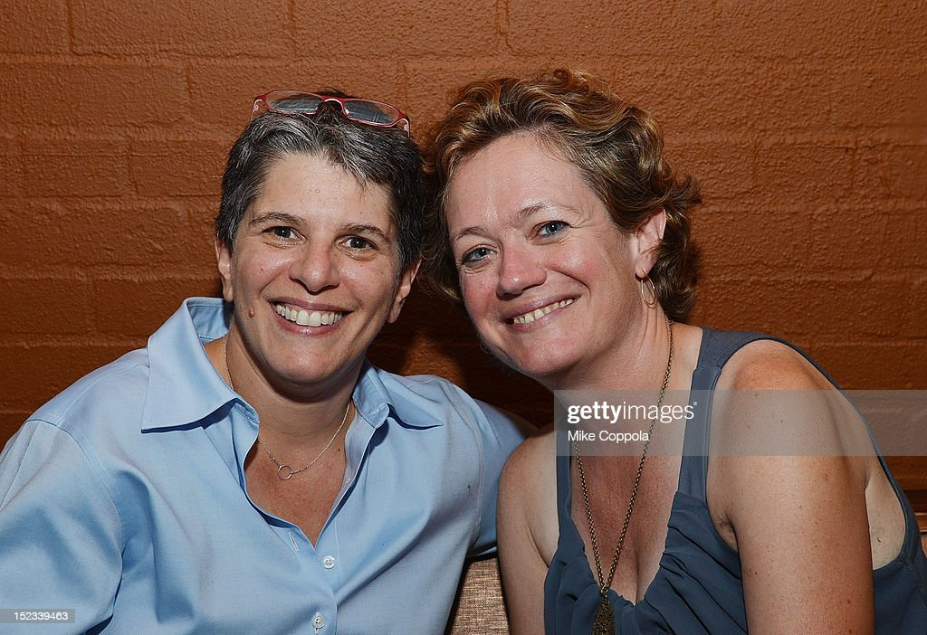 Cara Mertes (R) attends the Sundance Institute Alumni Event At IFP week at the Empire Hotel on September 18, 2012 in New York City.