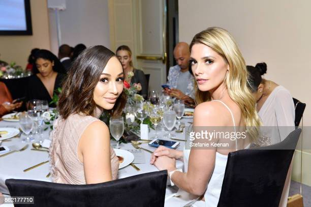 Cara Santana and Ashley Greene attend ELLE's 24th Annual Women in Hollywood Celebration presented by L'Oreal Paris Real Is Rare Real Is A Diamond and...
